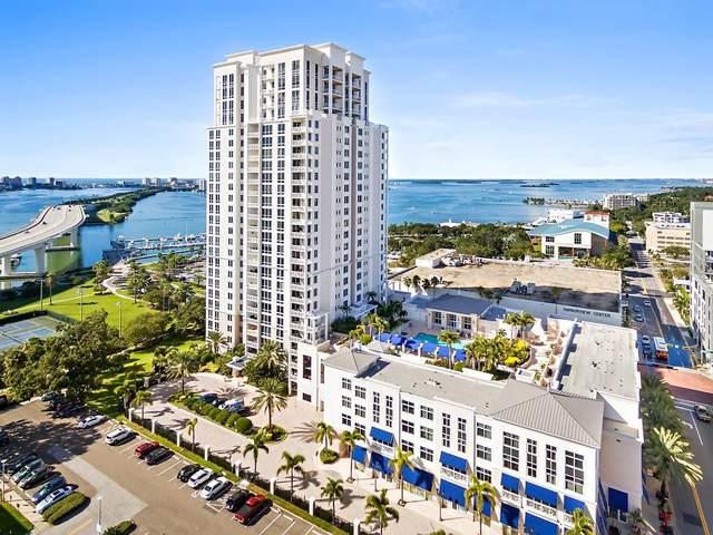331 Cleveland Street #302, Clearwater, FL 33755 (MLS #U8100599) :: Keller Williams on the Water/Sarasota