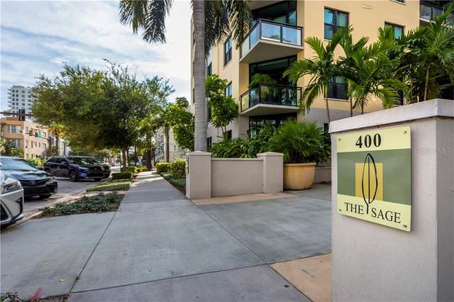400 4TH Avenue S #904, St Petersburg, FL 33701 (MLS #U8100642) :: The Light Team