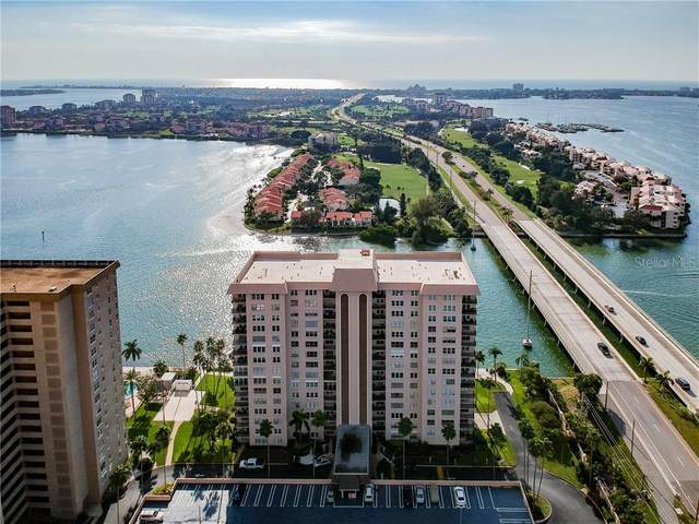 5220 Brittany Drive S #1003, St Petersburg, FL 33715 (MLS #U8100870) :: The Duncan Duo Team