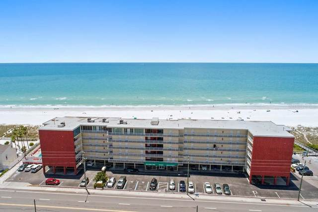 9980 Gulf Boulevard #518, Treasure Island, FL 33706 (MLS #U8101642) :: The Light Team