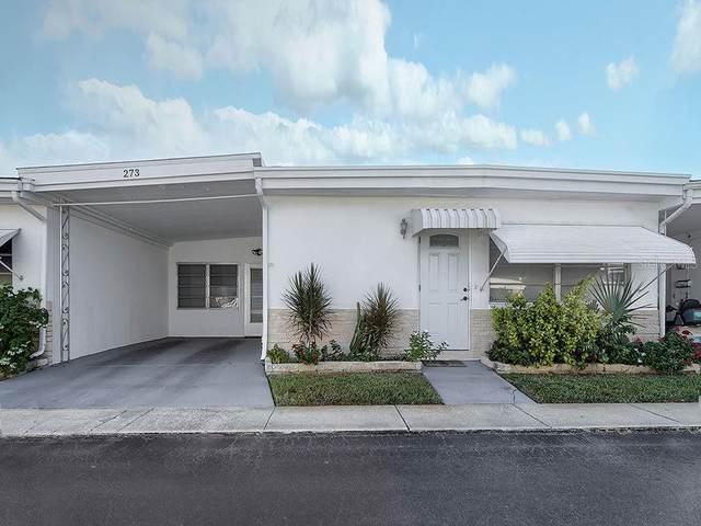 250 NW Rosery Road NW #273, Largo, FL 33770 (MLS #U8101689) :: Dalton Wade Real Estate Group