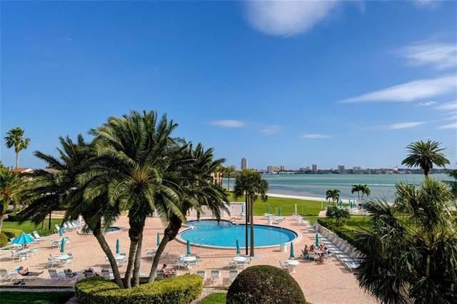 845 S Gulfview Boulevard #302, Clearwater, FL 33767 (MLS #U8105946) :: The Brenda Wade Team
