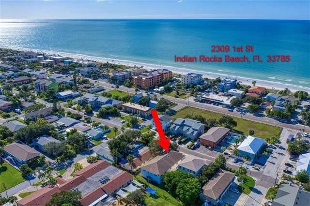 2309 1ST Street, Indian Rocks Beach, FL 33785 (MLS #U8106008) :: Delgado Home Team at Keller Williams