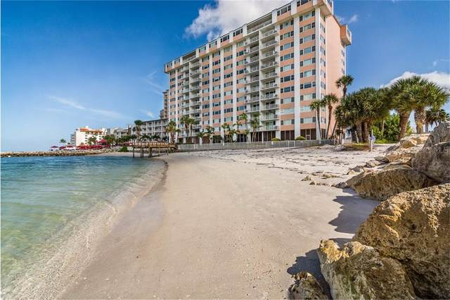 675 S Gulfview Boulevard #205, Clearwater Beach, FL 33767 (MLS #U8106096) :: Sarasota Home Specialists