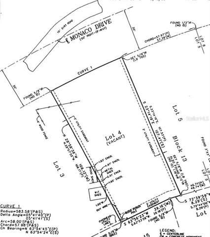 Lot 4 Monaco Drive NE, St Petersburg, FL 33702 (MLS #U8108149) :: Southern Associates Realty LLC