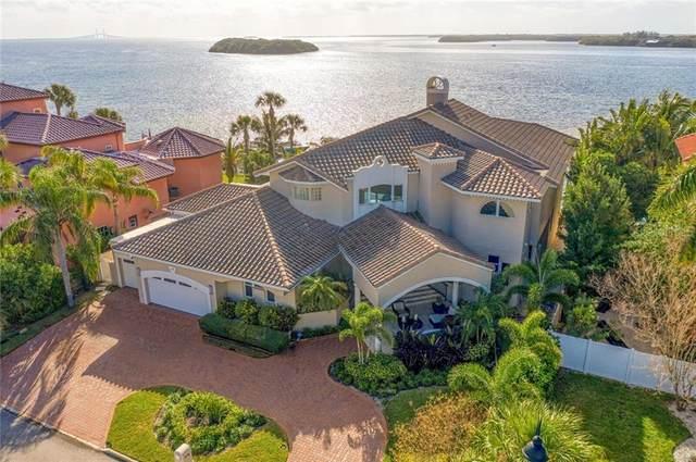 128 Sands Point Drive, Tierra Verde, FL 33715 (MLS #U8108955) :: Everlane Realty