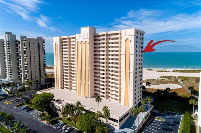1270 Gulf Boulevard #1608, Clearwater, FL 33767 (MLS #U8110330) :: Medway Realty