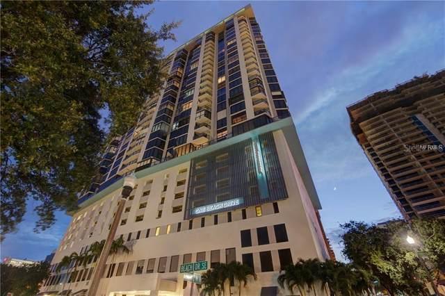 1 Beach Drive SE #1008, St Petersburg, FL 33701 (MLS #U8110767) :: Dalton Wade Real Estate Group