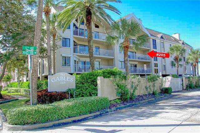 1108 Gulf Boulevard #205, Indian Rocks Beach, FL 33785 (MLS #U8112719) :: Heckler Realty