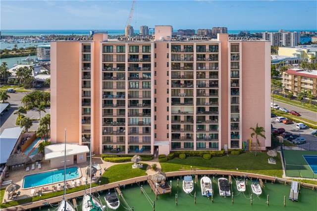 51 Island Way #309, Clearwater, FL 33767 (MLS #U8114910) :: The Lersch Group