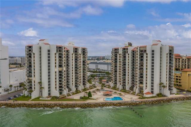 440 S Gulfview Boulevard #1201, Clearwater, FL 33767 (MLS #U8117253) :: Positive Edge Real Estate