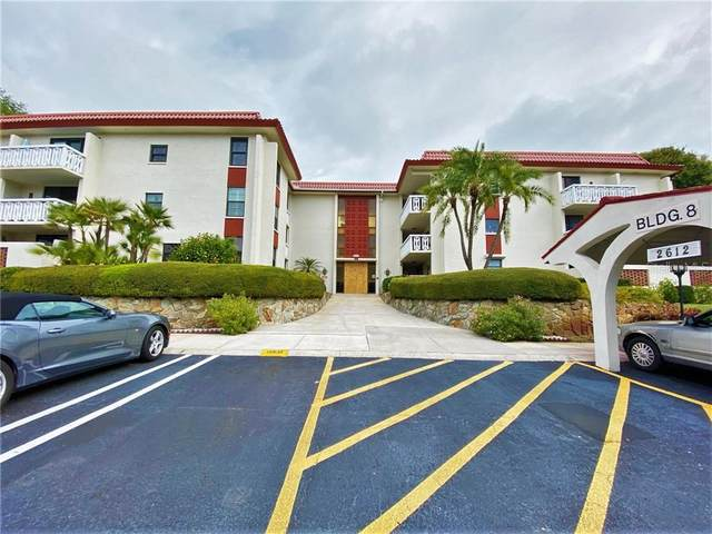 2612 Pearce Drive #302, Clearwater, FL 33764 (MLS #U8117620) :: Medway Realty