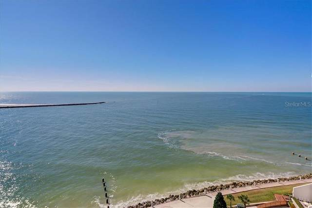 450 S Gulfview Boulevard #1502, Clearwater, FL 33767 (MLS #U8118747) :: Positive Edge Real Estate