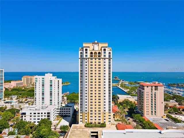 300 Beach Drive NE #1601, St Petersburg, FL 33701 (MLS #U8119052) :: Zarghami Group