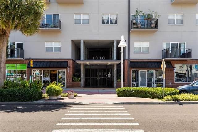 1010 Central Avenue #412, St Petersburg, FL 33705 (MLS #U8119511) :: The Duncan Duo Team