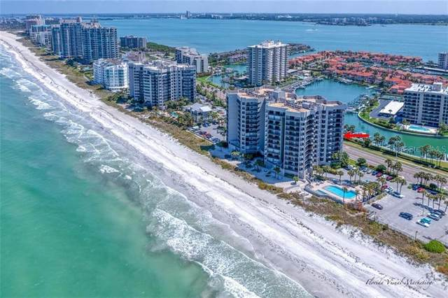 1660 Gulf Boulevard #708, Clearwater Beach, FL 33767 (MLS #U8119820) :: Frankenstein Home Team