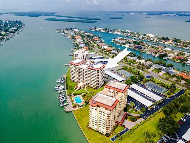 736 Island Way #1002, Clearwater, FL 33767 (MLS #U8120359) :: Coldwell Banker Vanguard Realty