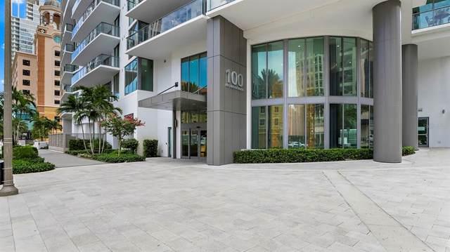 100 1ST Avenue N #3206, St Petersburg, FL 33701 (MLS #U8120705) :: The Lersch Group