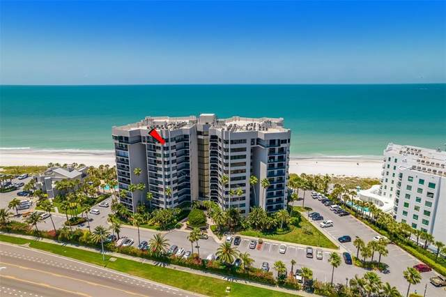 1600 Gulf Boulevard #1117, Clearwater, FL 33767 (MLS #U8121010) :: Griffin Group