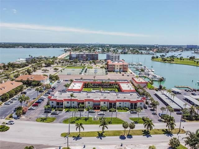 10365 Paradise Boulevard #18, Treasure Island, FL 33706 (MLS #U8121243) :: Coldwell Banker Vanguard Realty