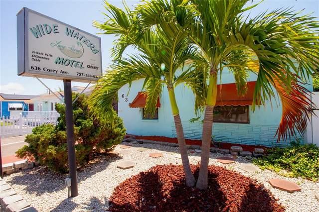 636 Corey Avenue, St Pete Beach, FL 33706 (MLS #U8122033) :: Lockhart & Walseth Team, Realtors