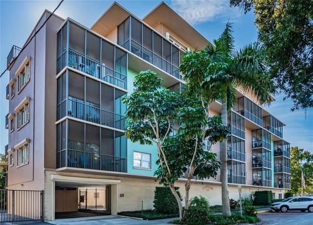 750 Burlington Avenue N 4L, St Petersburg, FL 33701 (MLS #U8123122) :: Medway Realty