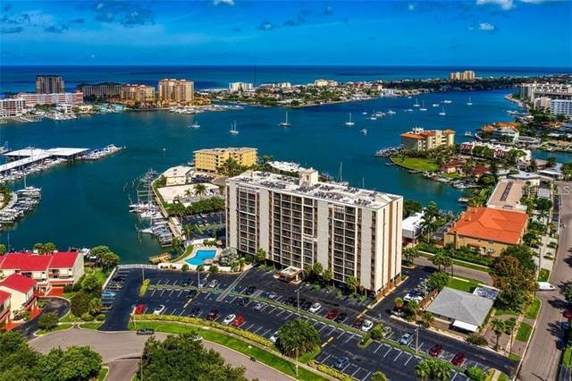 255 Dolphin Point #708, Clearwater, FL 33767 (MLS #U8123123) :: Coldwell Banker Vanguard Realty