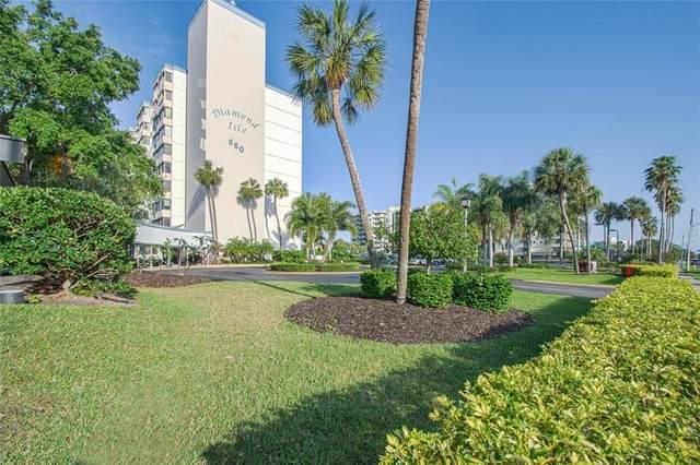 660 Island Way #206, Clearwater, FL 33767 (MLS #U8124894) :: Pepine Realty