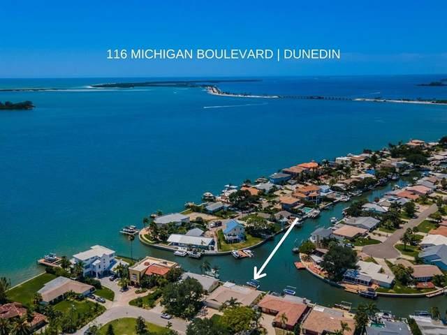 116 Michigan Boulevard, Dunedin, FL 34698 (MLS #U8126650) :: Heckler Realty