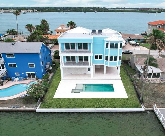 843 Bay Point Drive, Madeira Beach, FL 33708 (MLS #U8127412) :: GO Realty