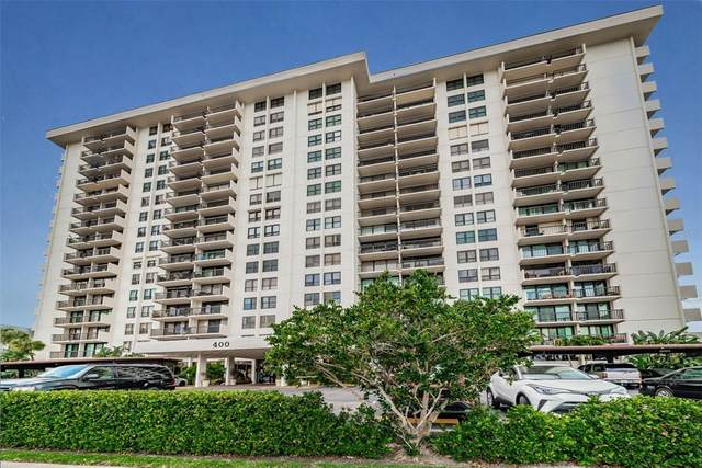 400 Island Way #1103, Clearwater, FL 33767 (MLS #U8127536) :: Realty Executives
