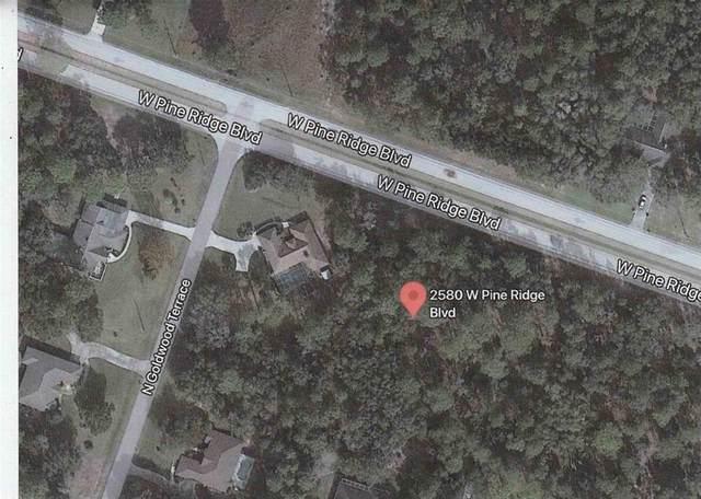 2580 W Pine Ridge Boulevard, Beverly Hills, FL 34465 (MLS #U8129793) :: Everlane Realty