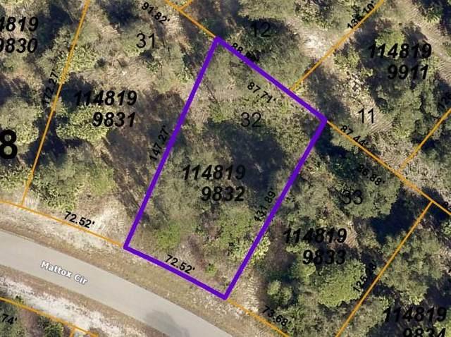 Mattox Circle, North Port, FL 34288 (MLS #U8129956) :: Zarghami Group
