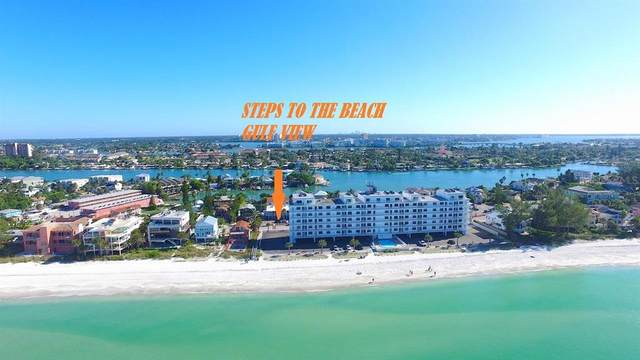 8475 W Gulf Boulevard #2, Treasure Island, FL 33706 (MLS #U8129985) :: Medway Realty