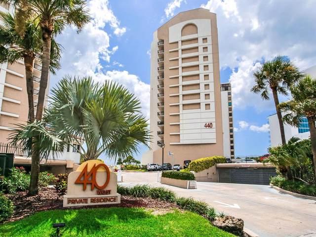 440 S Gulfview Boulevard #1402, Clearwater, FL 33767 (MLS #U8130064) :: The Brenda Wade Team