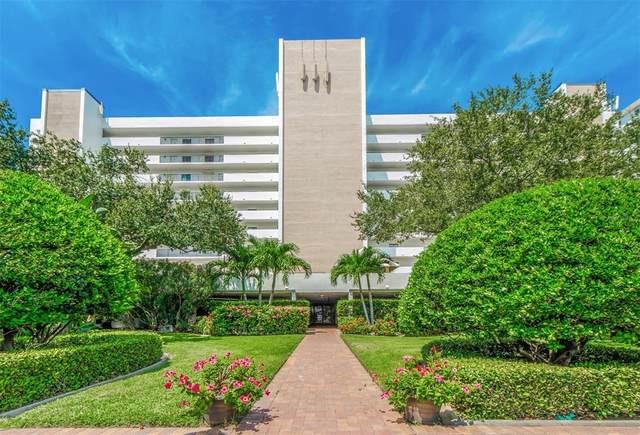 1250 Gulf Boulevard #705, Clearwater Beach, FL 33767 (MLS #U8130885) :: Zarghami Group
