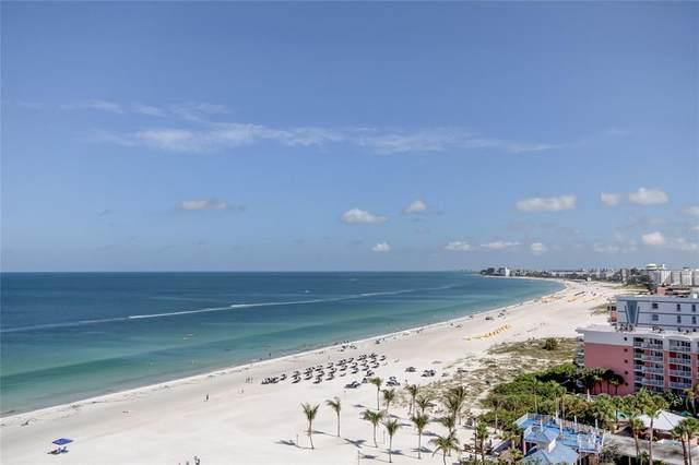 3820 Gulf Boulevard #1107, St Pete Beach, FL 33706 (MLS #U8132187) :: Bob Paulson with Vylla Home