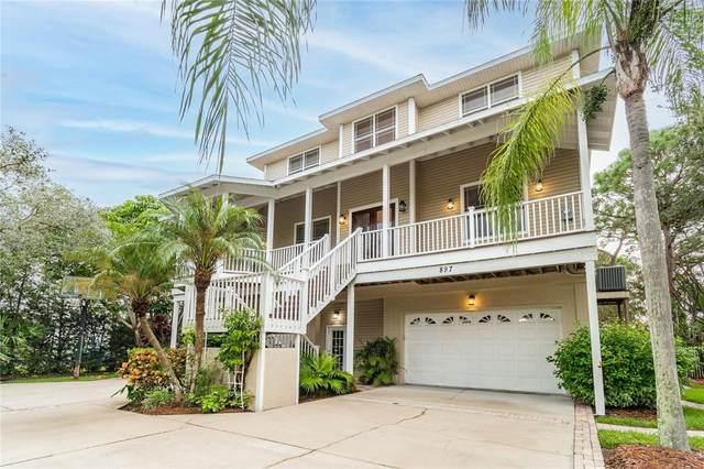 897 Point Seaside Drive, Crystal Beach, FL 34681 (MLS #U8137121) :: Zarghami Group