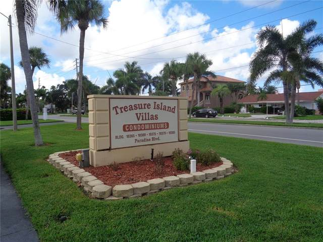 10365 Paradise Boulevard #8, Treasure Island, FL 33706 (MLS #U8137331) :: Future Home Realty