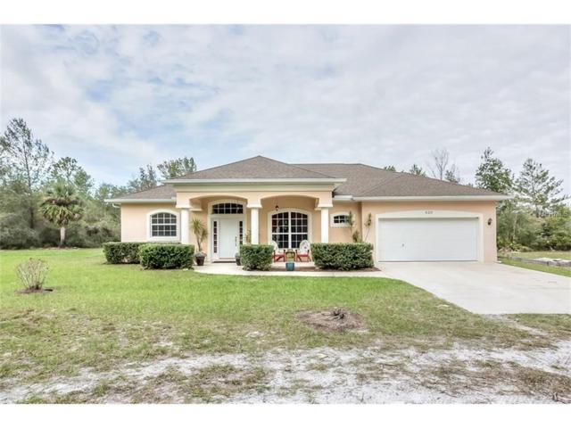 620 Pierce Arrow Road, Pierson, FL 32180 (MLS #V4721645) :: RealTeam Realty