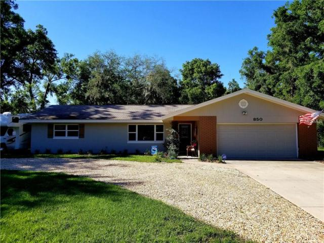 850 W Lansdowne Avenue, Orange City, FL 32763 (MLS #V4900125) :: G World Properties