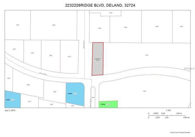 0 Ridge Road, Deland, FL 32724 (MLS #V4901445) :: Mark and Joni Coulter | Better Homes and Gardens