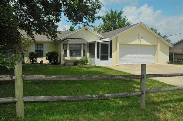 1518 Gregory Drive, Deltona, FL 32738 (MLS #V4901966) :: White Sands Realty Group