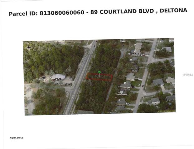 89 S Courtland Boulevard, Deltona, FL 32738 (MLS #V4903322) :: Team Borham at Keller Williams Realty