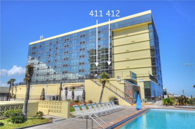 1909 S Atlantic Avenue 411/412, Daytona Beach Shores, FL 32118 (MLS #V4903573) :: Team Bohannon Keller Williams, Tampa Properties