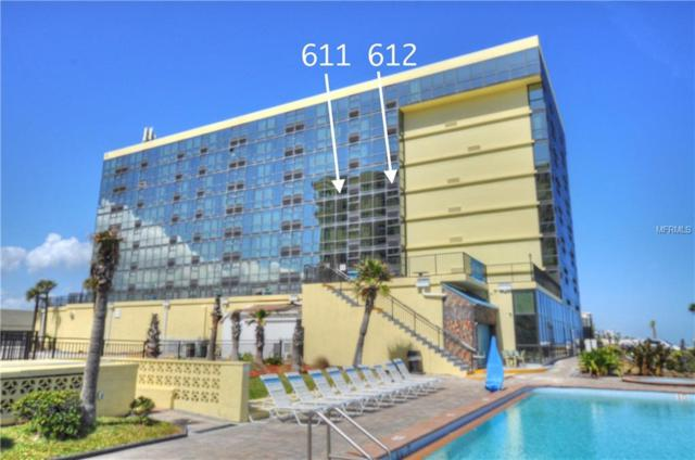1909 S Atlantic Avenue 611/612, Daytona Beach Shores, FL 32118 (MLS #V4903574) :: Team Bohannon Keller Williams, Tampa Properties