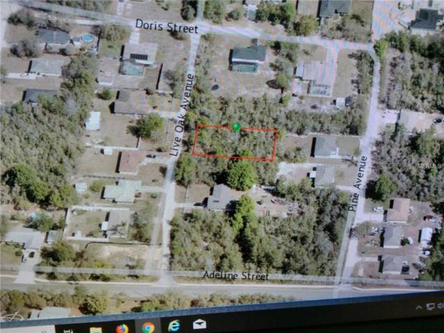 Live Oak Avenue, Orange City, FL 32763 (MLS #V4903920) :: Mark and Joni Coulter | Better Homes and Gardens