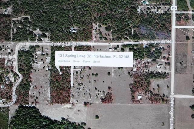 131 Spring Lake Drive, Interlachen, FL 32148 (MLS #V4909301) :: Cartwright Realty