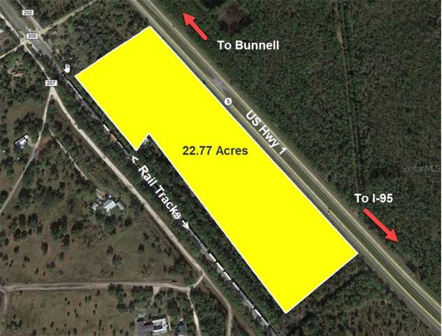 Us 1 Highway (22.77 AC), Bunnell, FL 32110 (MLS #V4911644) :: The Duncan Duo Team