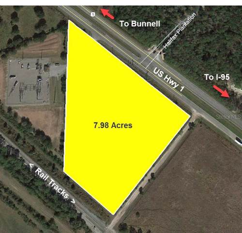 Us 1 Highway (7.98 AC), Bunnell, FL 32110 (MLS #V4911650) :: The Duncan Duo Team